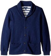 Polo Ralph Lauren Slub Fleece Shawl Collar Top (Big Kids)