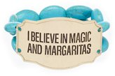 "Southern Living I Believe In Magic and Margaritas"" Stretch Bracelet"