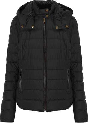Belstaff Avedon Quilted Cotton-blend Shell Hooded Down Jacket