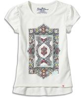 Lucky Brand Ergret Tile Tee - Toddler & Girls