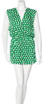 Diane von Furstenberg Hooded Mini Dress