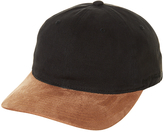 Flexfit Flex Fit 2 Tone Suede Half Structured Strap Back Cap Black