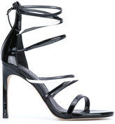 Stuart Weitzman ankle length sandals