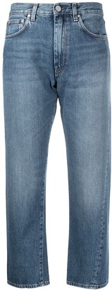 Totême Original twisted seam cropped jeans