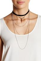 Stephan & Co Layered Chain Choker