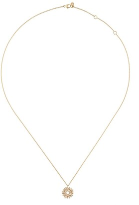 Astley Clarke Rising Sun diamond pendant necklace