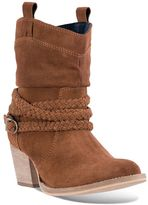 Dingo Twisted Sister Women's Suede Cowboy Boots
