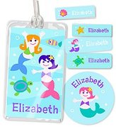Olive Kids Mermaids Personalized Camp Kit