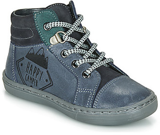 Citrouille et Compagnie LEKITO boys's Mid Boots in Blue