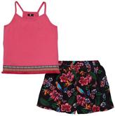 Very Girls Printed Vest Top And Shorts Set
