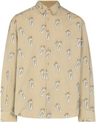 Jacquemus Le Simon long-sleeve shirt