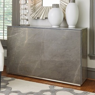 Global Views Graffito Marble Console Table
