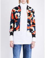 Dries Van Noten Haralson cotton-jersey bomber jacket
