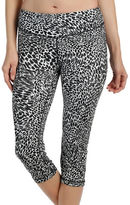Karen Kane Leopard-Print Active Cropped Leggings
