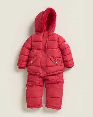 DKNY Infant Girls) Two-Piece Snowsuit Set