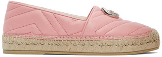 Gucci Pink Quilted Charlotte Espadrilles