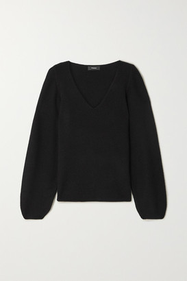 Theory Cashmere Sweater - Black