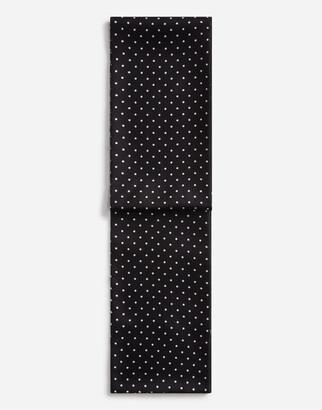 Dolce & Gabbana Silk Jacquard Scarf