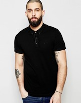 Hilfiger Denim Polo With Button Down Collar