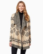 Charming charlie Oversized Tribal Cardigan