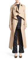 Awake Women's Oversized Cotton Trench Coat