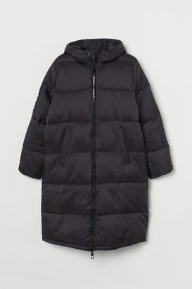 H&M H&M+ Long puffer jacket