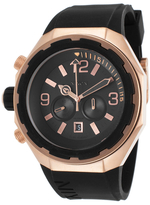 Nixon Steelcat Stainless steel & Silicone Watch, 51mm