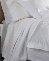 Sferra Queen Finley 300TC Embroidered Flat Sheet
