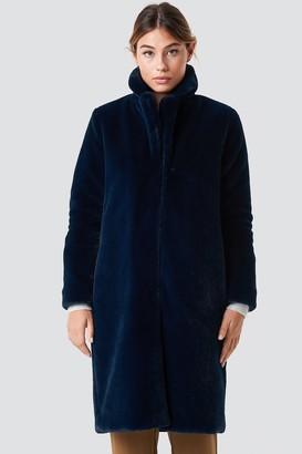 Rut & Circle Long Faux Fur Coat