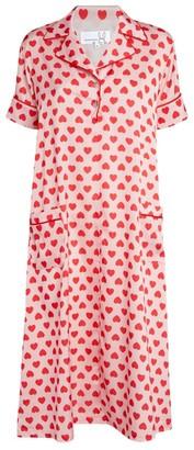 Natasha Zinko Heart Print Dress