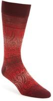 Bugatchi Men's Mercerized Cotton Blend Socks