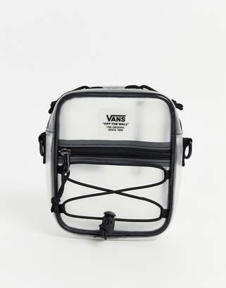 Vans Bail Shoulder Bag in clear