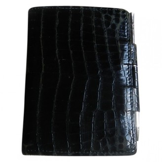 Hermes Black Crocodile Purses, wallets & cases