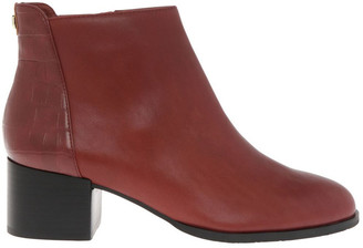 Trent Nathan Christa Red Cow Leather Boot