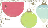 Minted vintage ornaments Self-Launch Mini Cards