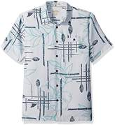 Quiksilver Men's Paddle Out Comfort Fit Button Down Casual Shirt