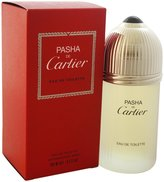 Cartier Pasha De By Edt Spray 3.3 Oz