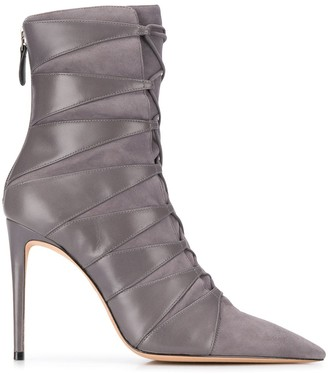 Alexandre Birman Becca ankle boots