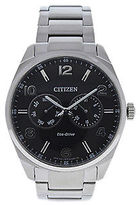 Citizen AO9020-84E Eco-Drive Dress Black Dial Stainless Steel Watch 1 Pc Watches