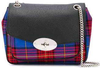 Mulberry Darley tartan print shoulder bag