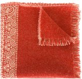 Forte Forte woven paisley scarf - women - Polyamide/Wool - One Size