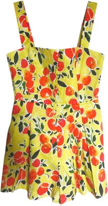 Jonathan Simkhai Yellow Cotton Jumpsuits