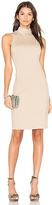 Eight Sixty Mock Neck Dress in Tan. - size S (also in XS)