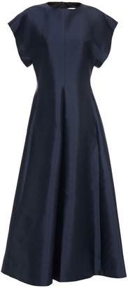 The Row Silk-faille Midi Dress