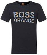 HUGO BOSS BOSS Orange Men's Tomsin Printed Logo Jersey T-Shirt