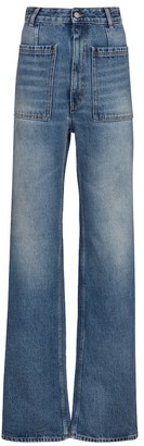 MM6 MAISON MARGIELA High-rise straight jeans