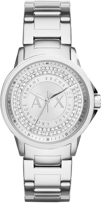Armani Exchange Women's Analog Quartz Watch with Stainless Steel Strap AX4320