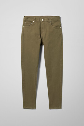 Weekday Cone Slim Tapered Jeans - Green