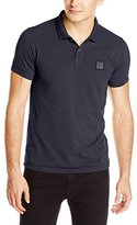 HUGO BOSS BOSS Orange Men's Pascha Jersey Polo Shirt, Dark