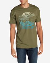 Eddie Bauer Men's Graphic T-Shirt - Mount Rainier